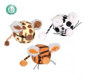 Trixie Mouse Balls /играчка за котка мишка топка/-Ø4.5см