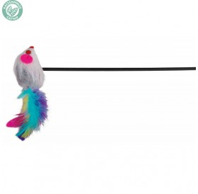 Trixie Playing Rod For Cats /Играчка За Котки Въдица С Мишка/-50см