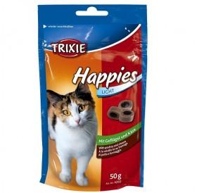 Trixie Happies Poultry&Cheese /лакомства за котка с пиле и сирене/-50гр