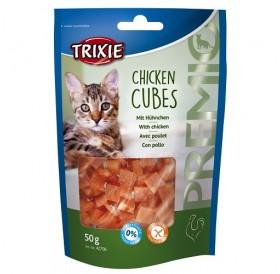 Trixie Premio Chicken Cubes /лакомства за котки с пиле/-50гр