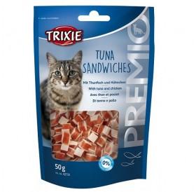 Trixie Premio Tuna Sandwiches /лакомства за котка с риба тон и пиле/-50гр