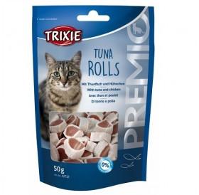 Trixie Premio Tuna Rolls /лакомства за котка с риба тон и пиле/-50гр
