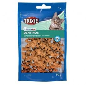 Trixie Denta Fun Dentinos /лакомства за котка с дентална хигиена/-50гр