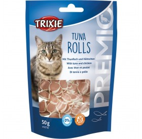 Trixie Premio Tuna Rolls /Лакомства За Котки С Риба Тон И Пиле/-50гр