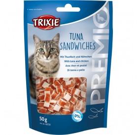 Trixie Premio Tuna Sandwiches /Лакомства За Котки С Риба Тон И Пиле/-50гр