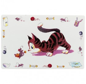 Trixie Place Mat Comical-Cat /Подложка За Купички/-44х28см