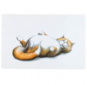 Trixie Place Mat Fat Cat /Подложка За Купички/-44х28см