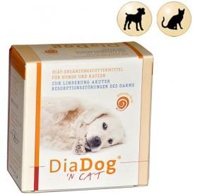 Dia Dog 'N Cat /хранителна добавка против диария за кучета и котки 1 таблетка/-5гр