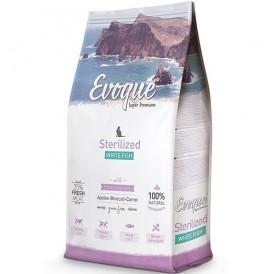 Evoque® CAT Sterilized White Fish /храна за кастрирани котки с месо от бяла риба/