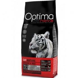 Optima nova CAT Mature Chicken&Rice /храна за възрастни котки с пилешко месо и ориз/