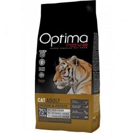 Optima nova CAT Adult Chicken&Potato /храна за израснали котки с пилешко месо и картофи/