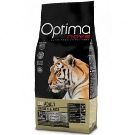 Optima nova CAT Adult Chicken&Rice /храна за израснали котки с пилешко месо и ориз/