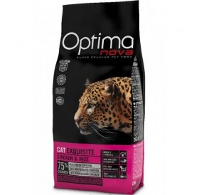 Optima nova CAT Exquisite Chicken&Rice /храна за израснали капризни котки с пилешко месо и ориз/