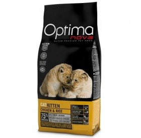 Optima nova CAT Kitten Chicken&Rice /храна за подрастващи котенца с пилешко месо и ориз/