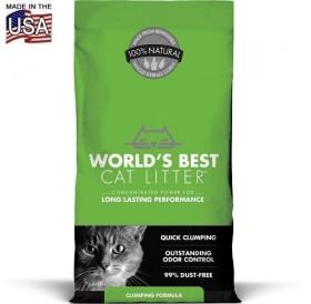 World's Best Cat Litter™ Clumping /котешка постелка произведена на царевична основа/-3,18кг
