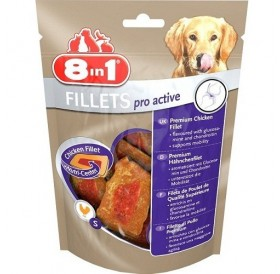 8in1 Fillets Pro Active S /пилешки филенца/-80гр