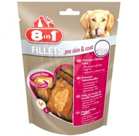 8in1 Fillets Pro Skin&Coat S /пилешки филенца/-80гр