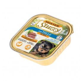 Mister Stuzzy Dog Puppy with Chicken /храна за подрастващи кученца пастет с пиле/-6х150гр