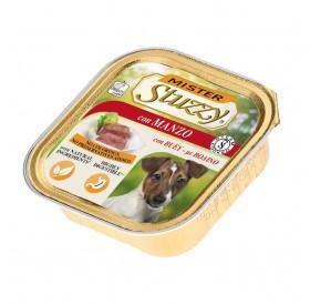 Mister Stuzzy Dog with Beef /храна за израснали кучета пастет с говеждо месо/-6х150гр