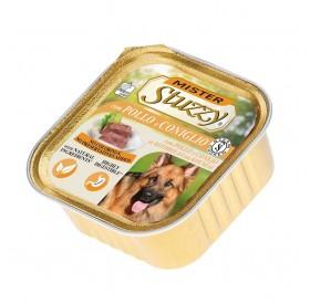 Mister Stuzzy Dog with Chicken&Rabbit /храна за израснали кучета пастет с пиле и заек/-6х300гр