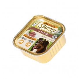 Mister Stuzzy Dog with Duck /храна за израснали кучета пастет с патешко месо/-6х300гр