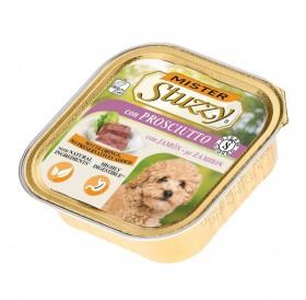 Mister Stuzzy Dog with Ham /храна за израснали кучета пастет с шунка/-6х150гр