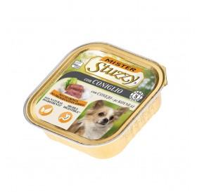 Mister Stuzzy Dog with Rabbit /храна за израснали кучета пастет с месо от заек/-6х150гр