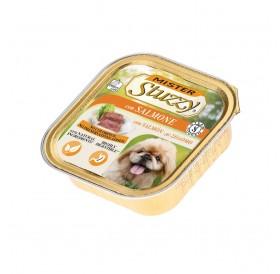Mister Stuzzy Dog with Salmon /храна за израснали кучета пастет със сьомга/-6х150гр