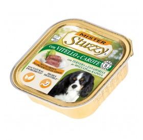 Mister Stuzzy Dog with Veal&Carrots /храна за израснали кучета пастет с телешко и моркови/-6х150гр