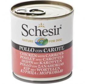 Schesir® Chicken&Carrots in Jelly /храна за израснали кучета с пилешко месо и моркови в желе/-285гр