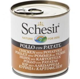 Schesir® Chicken&Potatoes in Jelly /храна за израснали кучета с пилешко месо и картофи в желе/-285гр