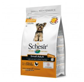 Schesir Small Adult Maintenance with Chicken /храна за израснали кучета дребни породи с пилешко месо/-0,800кг