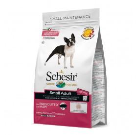 Schesir Small Adult Maintenance with Ham /храна за израснали кучета дребни породи с прошуто/-0,800кг
