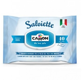 Amici e Felici Cleaning Wipes with Fresh Marine Scent /мокри кърпички/-40бр