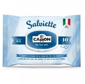Amici e Felici Cleaning Wipes with Talc /мокри кърпички с талк/-40бр