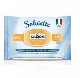 Amici e Felici Vanilla-scented Cleaning Wipes /мокри кърпи с аромат на ванилия/-15бр