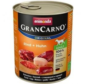 Animonda GranCarno® Original Adult Beef+Chicken /храна за израснали кучета с говеждо и пилешко месо/-800гр
