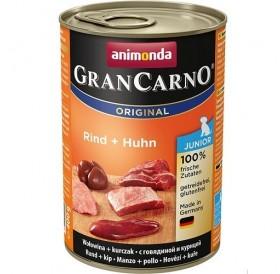 Animonda GranCarno® Original Junior Beef+Chicken /храна за подрастващи кученца с говеждо и пилешко месо/-400гр