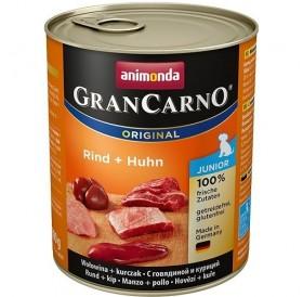 Animonda GranCarno® Original Junior Beef+Chicken /храна за подрастващи кученца с говеждо и пилешко месо/-800гр