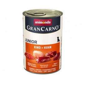 Animonda GranCarno Meaty Fresh Junior Beef+Chicken /храна за подрастващи кученца с говеждо и пилешко месо/-400гр
