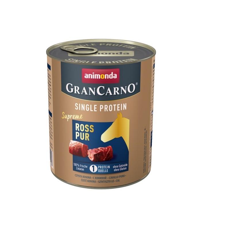 Animonda GranCarno Single Protein Adult Pure Horse /храна за израснали кучета само конско месо/-800гр