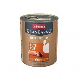 Animonda GranCarno Single Protein Adult Pure Turkey /храна за израснали кучета само пуешко месо/-800гр