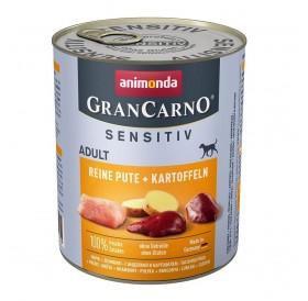 Animonda GranCarno Sensitive Adult with Pure Turkey+Potatoes /храна за израснали кучета с пуешко месо и картофи/-800гр