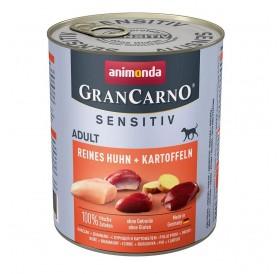 Animonda GranCarno Sensitive Adult with Pure Chicken+Potatoes /храна за израснали кучета с пилешко месо и картофи/-800гр