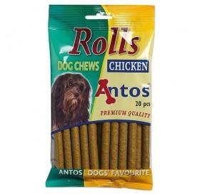 Antos Rolls Chicken /меки солети за куче/-200гр
