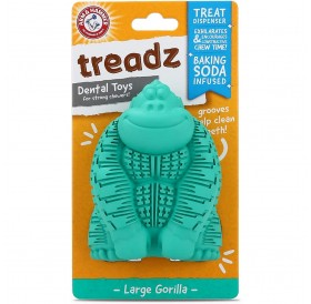 Arm&Hammer Treadz Dental Toy Large Gorilla /Дентална Играчка За Кучета Средни Породи/-10,4x5,15см