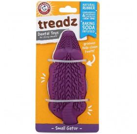 Arm&Hammer Treadz Dental Toy Small Gator /Дентална Играчка За Кучета Дребни Породи/-12,3см