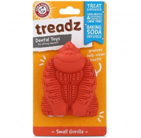 Arm&Hammer Treadz Dental Toy Small Gorilla /Дентална Играчка За Кучета Дребни Породи/-8,6x6,1см
