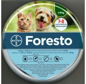 Bayer Foresto S /противопаразитна каишка за външни паразити при кучета и котки/-38см