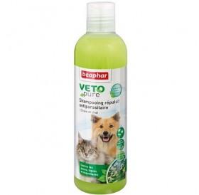 Beaphar Veto Pure Biol Shampoo /репелентен шампоан с нимово масло и лавандула/-250мл